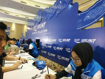 PSBR 2019 - Susana pengambilan RPC di Ballroom Hotel Harris, Bandung