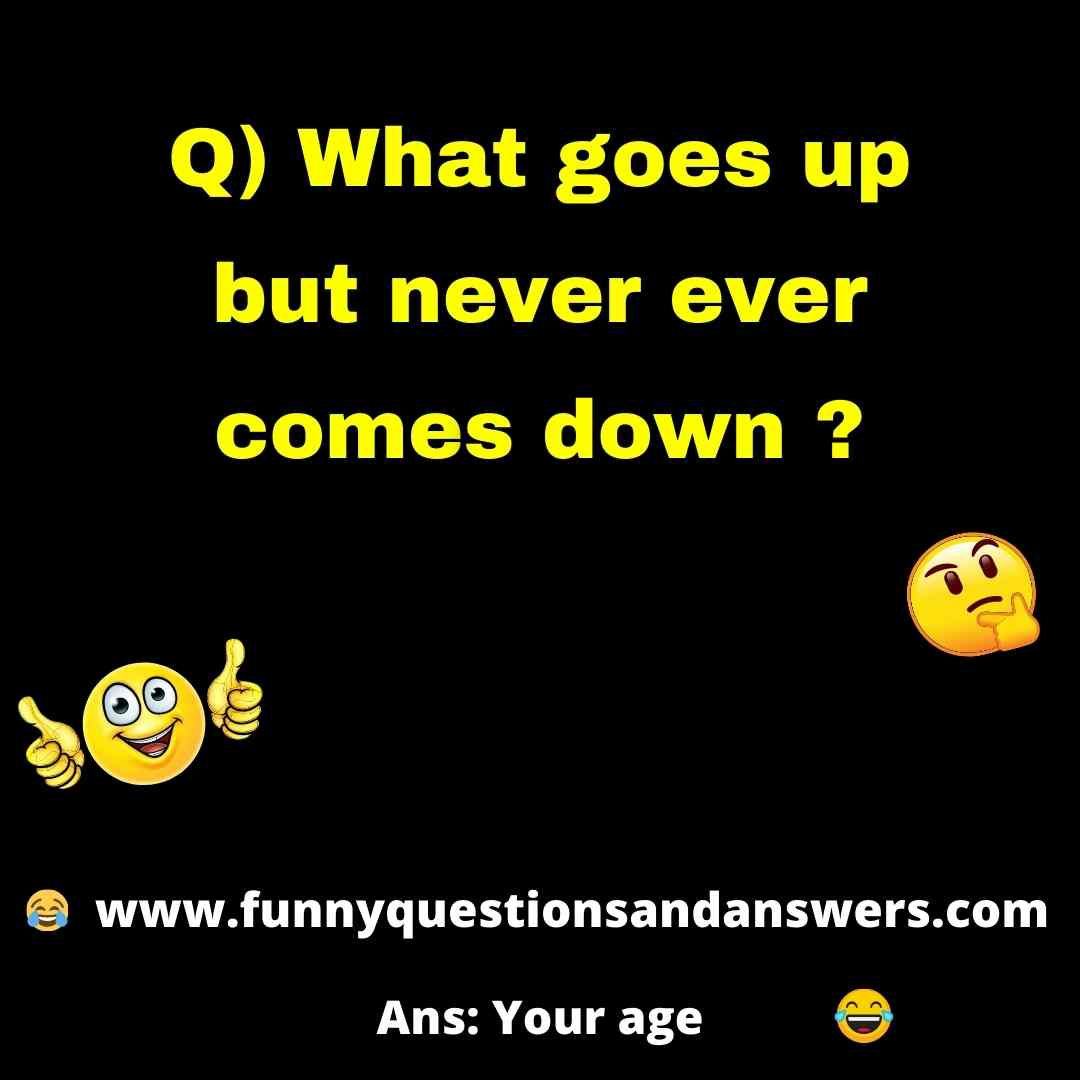 Funny quiz questions and answers in english