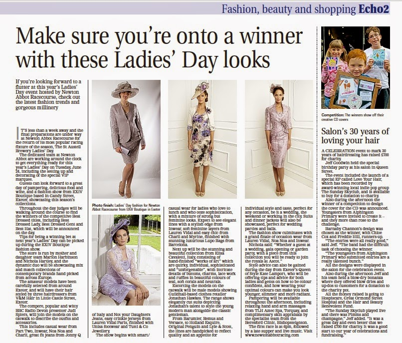 glenkingpr: Feature in this week's Express & Echo on St Austell