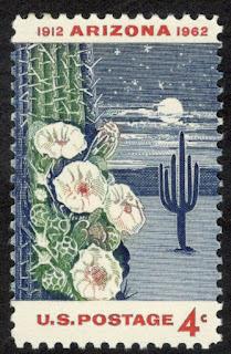 Arizona Statehood US Postage Single