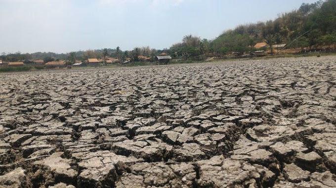 Musim Penghujan Tak Kunjung Tiba, Kekeringan di Pangandaran Jadi Imbasnya