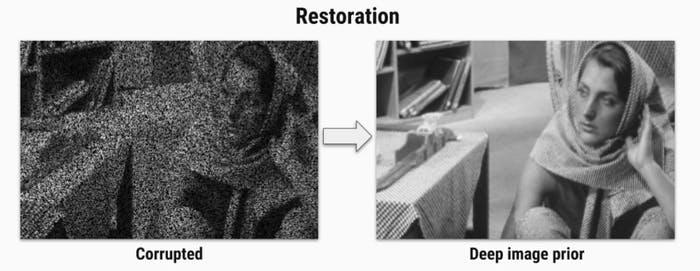 Примеры работы алгоритма по восстановлению изображения