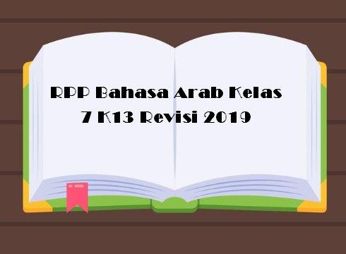 RPP Bahasa Arab Kelas 7 K13 Revisi 2019