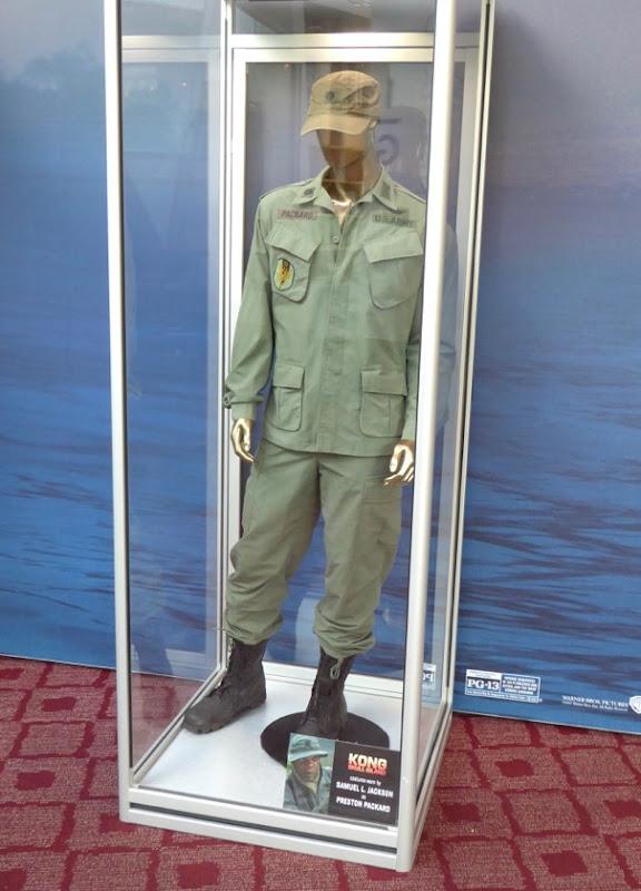Samuel L Jackson Kong Skull Island film costume