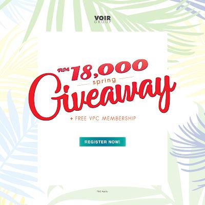 Free VOIR e-Voucher Giveaway