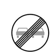 Конец запрета на обгон автомобилей любого типа