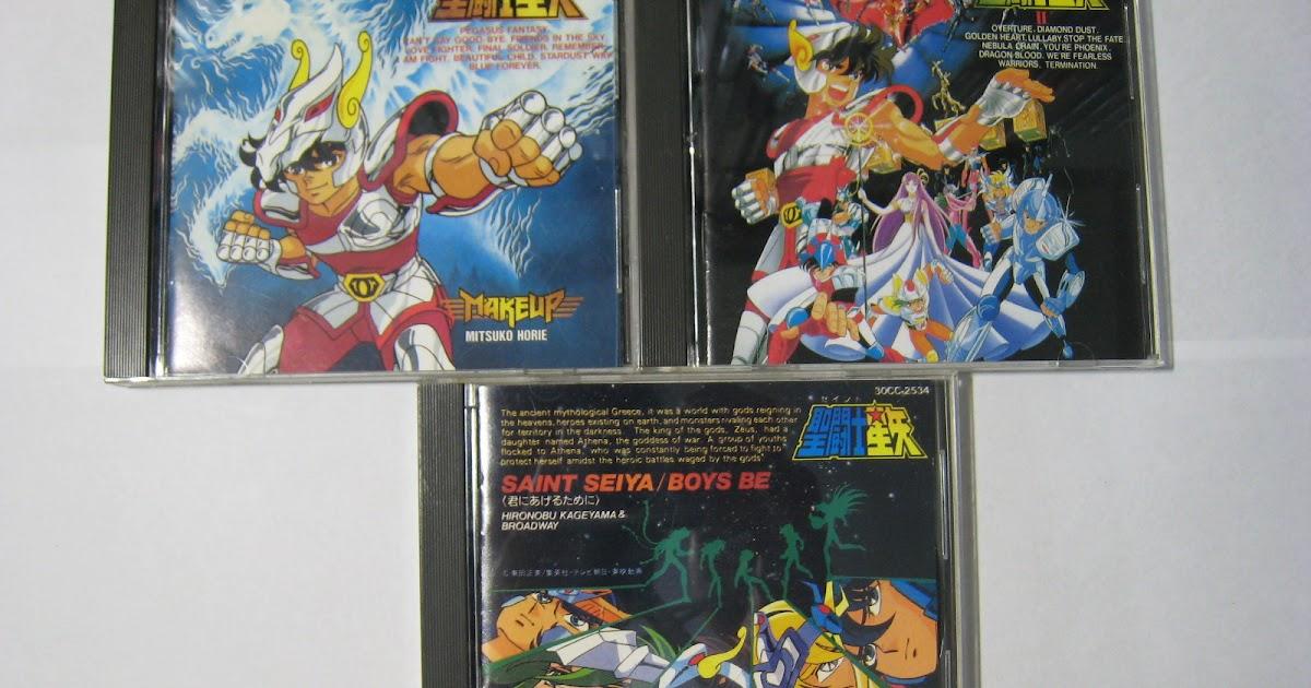 Starry Night Blue Sea: 星座神話:聖鬥士星矢 卡通動畫音樂CD收藏[聖闘士星矢Saint Seiya]
