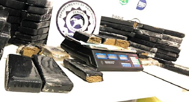 Polícia prende ex-presidiário e apreende 50kg de maconha em Nossa Senhora do Socorro