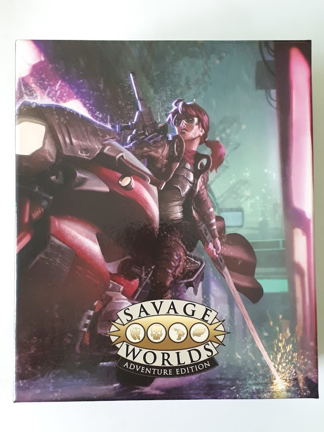 De un vistazo: Savage Worlds Essentials Box Set