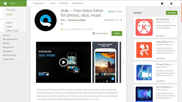3 Aplikasi Editing Video terbaik untuk Android
