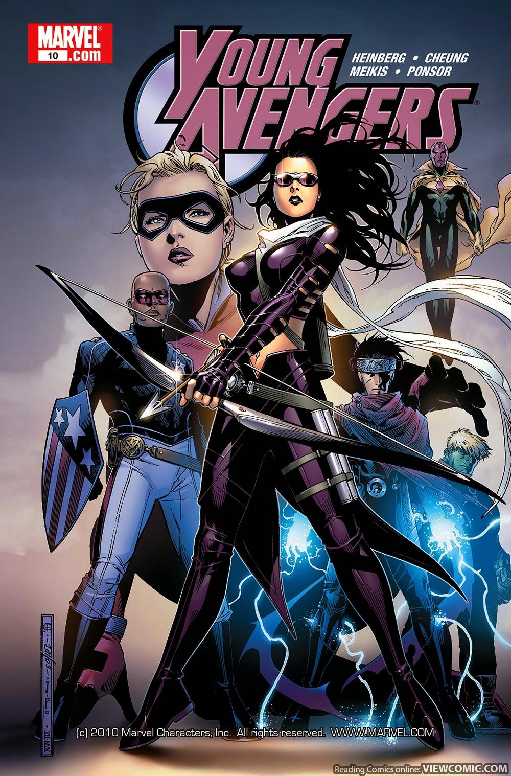 marvel comics young avengers