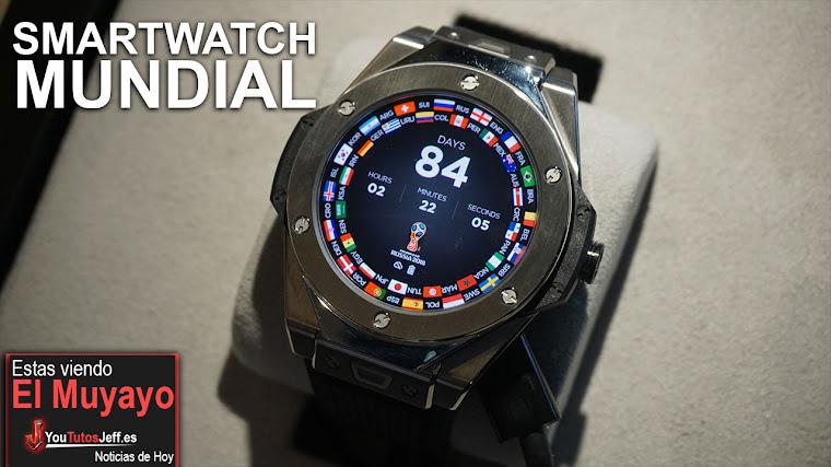 Impresionante Reloj del Mundial para Árbitros - Hublot Mundial 2018