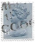 Selo Rainha Elizabeth II, 14P