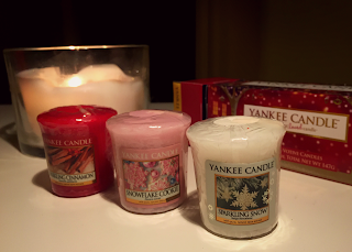 Yankee candle votive cracker set