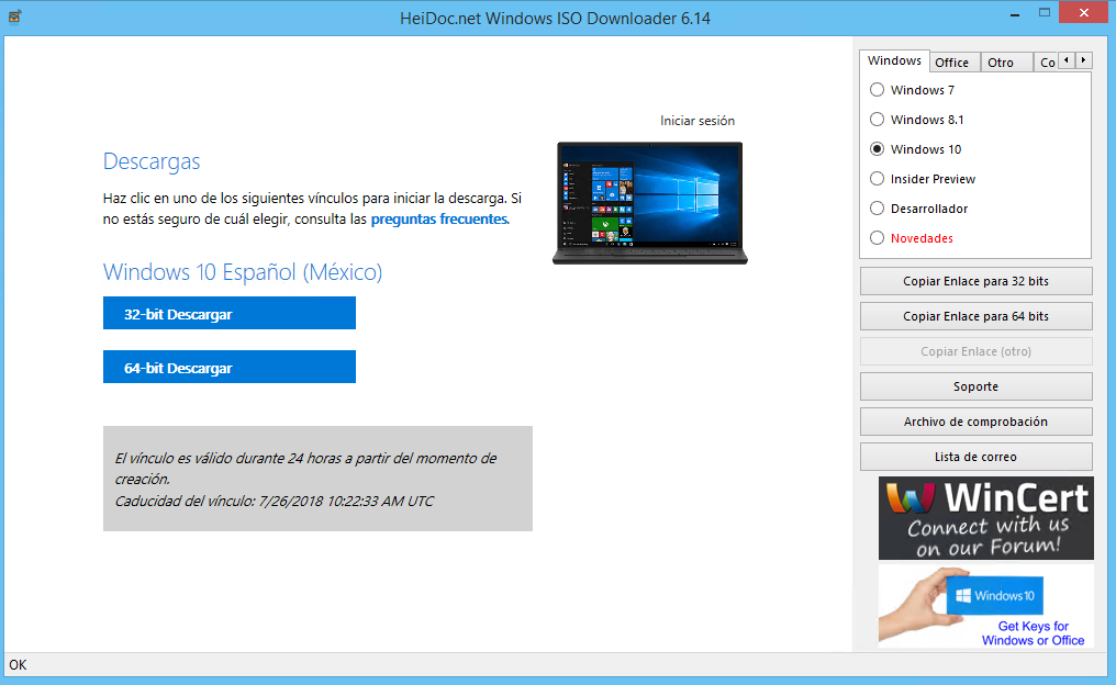 Microsoft Windows and Office ISO Download Tool v6 15