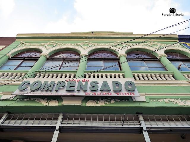 Vista de um casarão restaurado na Rua do Gasômetro - Brás - São Paulo