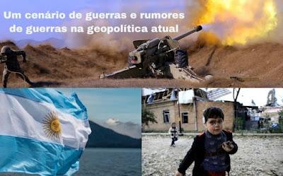 Um cenário de guerras e rumores de guerras na geopolítica atual