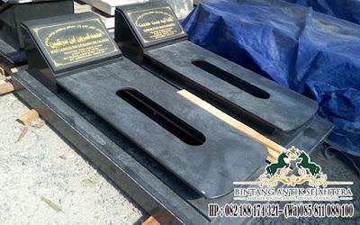 Makam Umat Islam, Makam Islam Di Gresik, Pengrajin Kuburan Granit