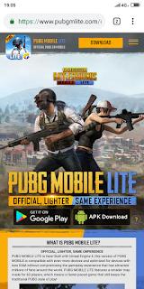 Download PUBG Mobile Lite Indonesia