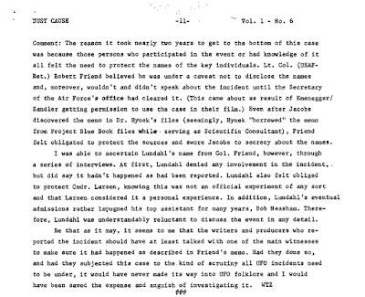 The Psychic Incident at CIA HQ (Pg 5) - Just Cause (Sept 1978)