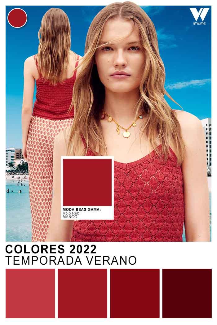 colores calidos primavera verano 2022