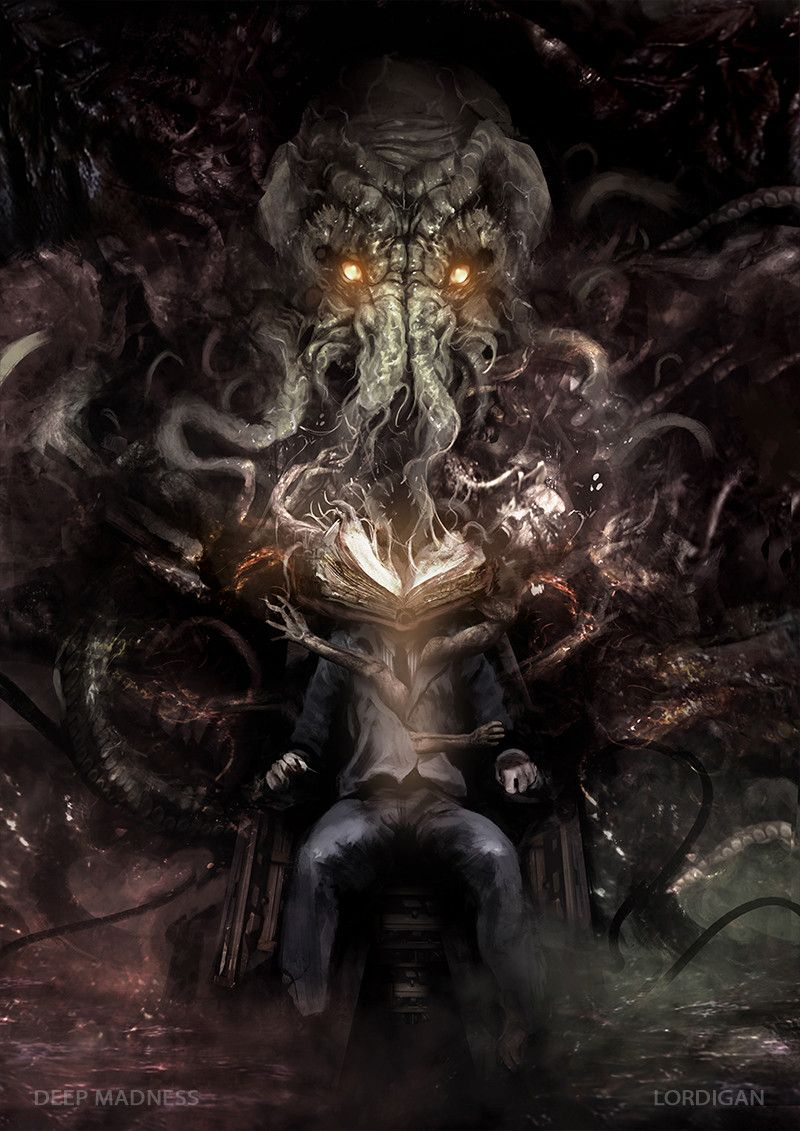 Arte Conceitual de H. P. Lovecraft