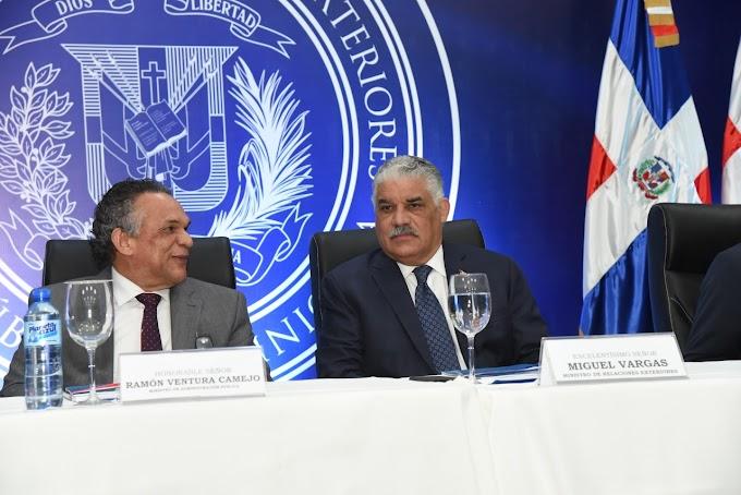 Ministerio Administración Pública reconoce gestión canciller vargas Maldonado