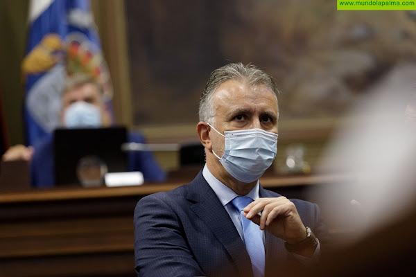 Ángel Víctor Torres destaca que el Plan Reactiva Canarias es el más consensuado de los que se han presentado