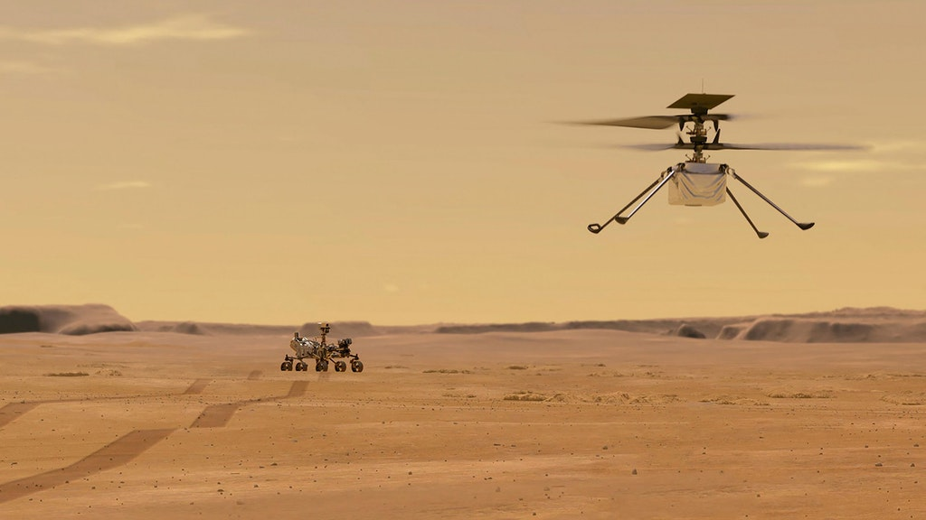 Mars Helicopter Ingenuity First Flight Delayed