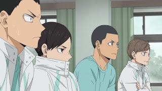 ハイキュー!! アニメ 第4期24話 青葉城西高校HAIKYU!! SEASON 4 Karasuno vs Inarizaki