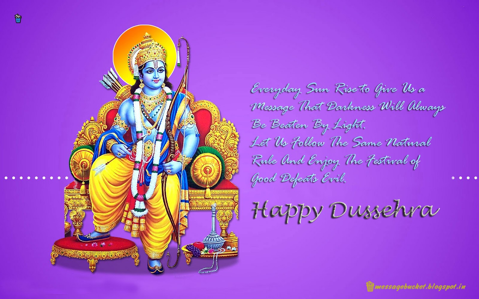 Cute mobile sms n messages happy dussehra happy dussehra m4hsunfo