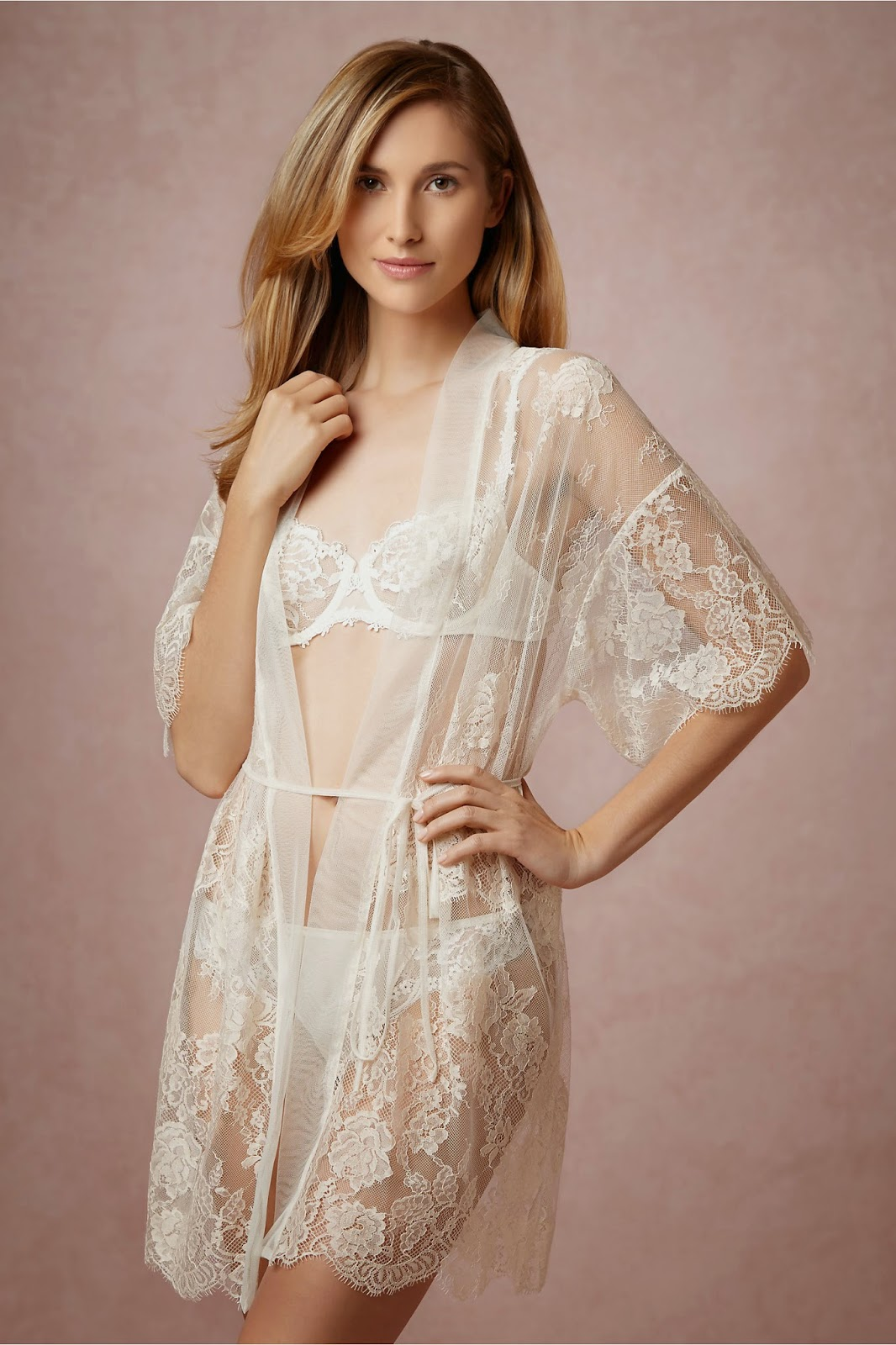 ab459754d I am a Woman in Love  BHLDN Delicate and Sexy Lingerie for the Bride ...