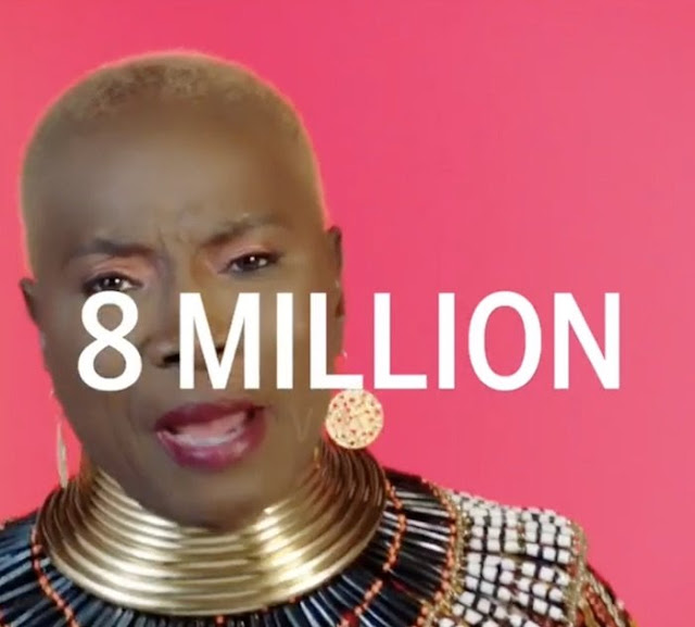 Yemi Alade Reacts As 'Shekere' Music Video Hits 8 Millions Youtube Views