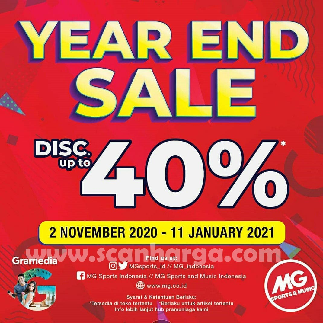 MG Sports Promo Fitness Year End Sale Disc Up to 40% 1