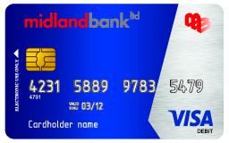 """midland bank debit card"" ""midland bank apps"" ""midland bank dual currency card"" ""midland bank online"" ""midland bank account number"" ""midland bank card activation"" ""midland bank student account"" ""bank prepaid card in bangladesh"""
