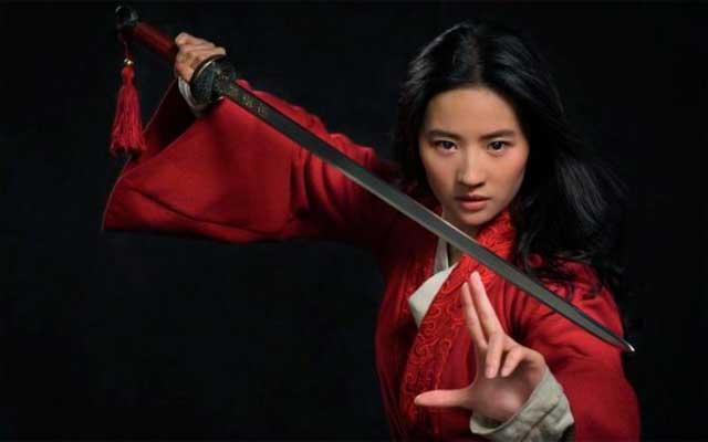 Mulan actriz Lie Yifei