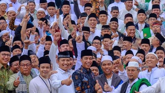 Relawan Jokowi Yakin Kalahkan Prabowo di Jawa Barat