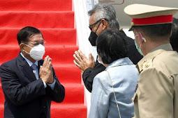 Pemimpin Junta Myanmar, Min Aung Hlaing Jelaskan Latar Belakang Krisis di KTT Asean