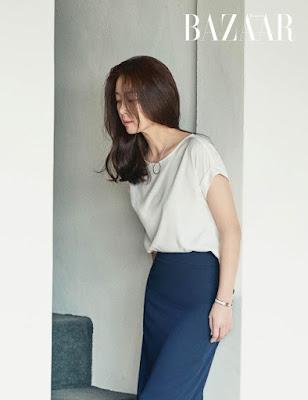 Song Yoon Ah Harper's Bazaar June 2017