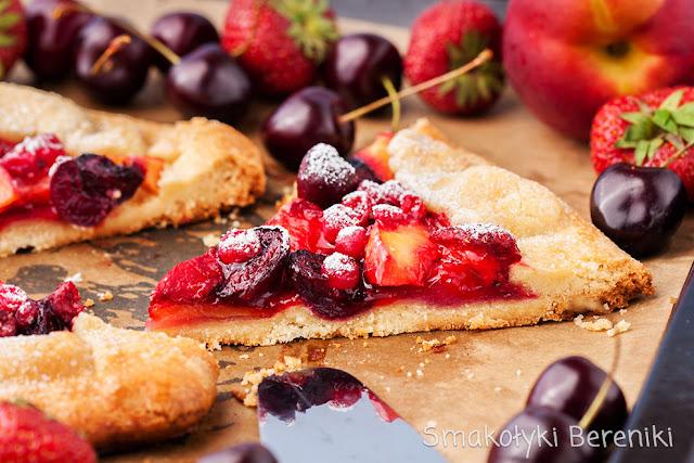 galette z owocami