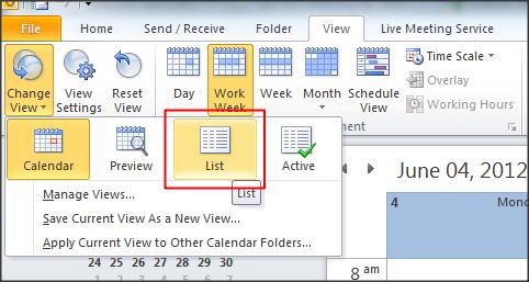 Sai's World: Mailbox Full! Clean Large Calendar in Outlook 2010