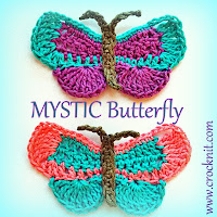 how to crochet, butterflies, insects, crochet patterns,