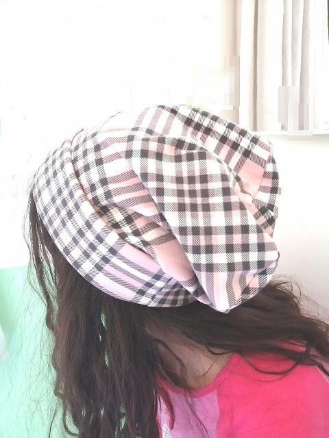 Cuciamo insieme un bel cappellino in stoffa con misure personalizzate (video)