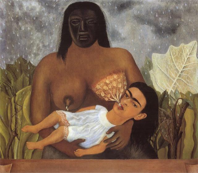 Фрида Кало - Моя нянька и я. 1937