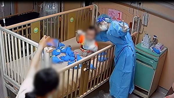 抗疫暖心全紀錄 彰基兒童醫院新冠確診全出院