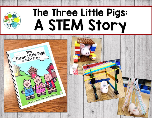 The Three Little Pigs: A STEM Story | Apples to Applique