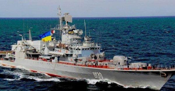 Φωτό: Γεμάτα τρύπες από ρωσικά βλήματα τα ουκρανικά πλοία