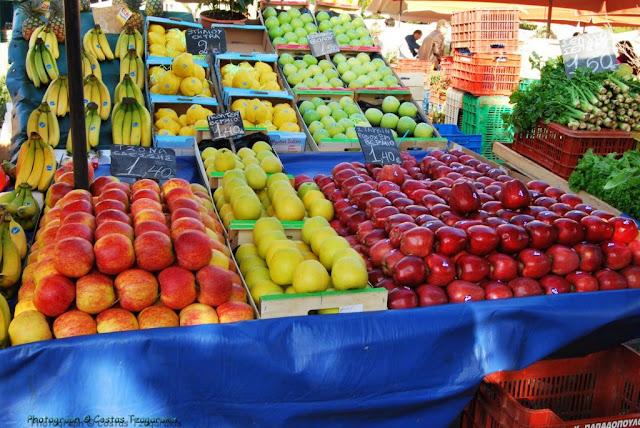 Η λίστα των παραγωγών της λαϊκής αγοράς του Ναυπλίου για το Σάββατο 1η Μαΐου