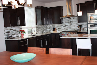 glass tiles for kitchen backsplashes