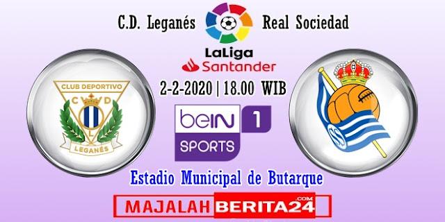 Prediksi Leganes vs Real Sociedad — 2 Februari 2020